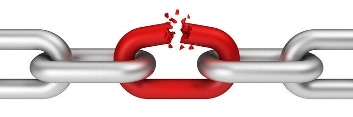 разрыв цепи из-за делового партнера